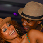 Keri Hilson And Boyfriend Serge Ibaka Gets Cuddly At Night Club in Atlanta