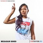 [PHOTOS] Megan Good, Eva Marcille, Chris Brown & More Support 'I Am Ready Foundation'; Trayvon Martin Campaign