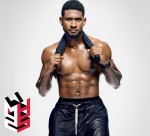 A Shirtless Usher Shows Off His Abs in Men's Health Magazine & Snags the Cover
